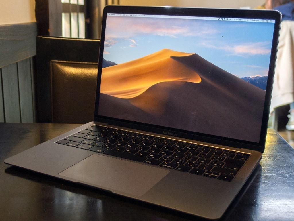 MacBook Air(2018)スペースグレイ