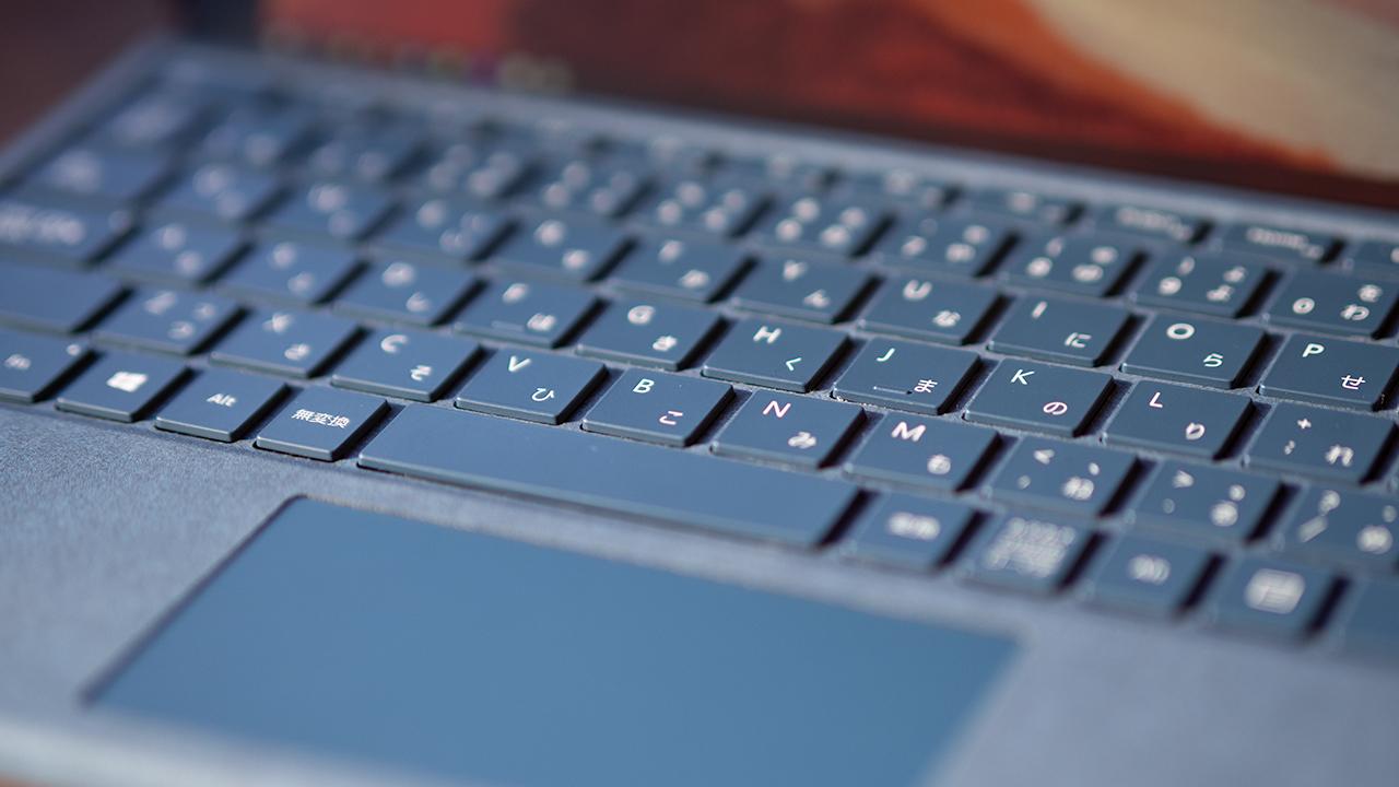 Surface Pro 7のキーボード